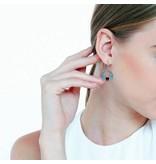 Winged Heart Earrings - sterling silver