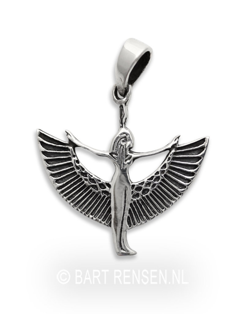Isis pendant - sterling silver