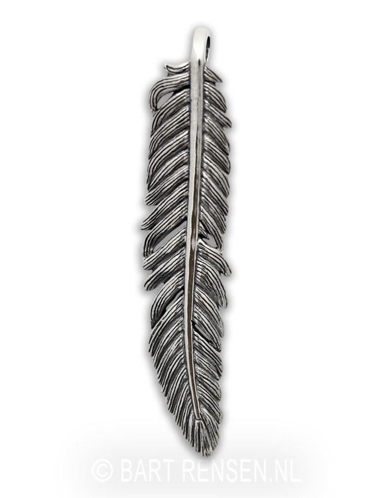 Veer hanger - echt zilver