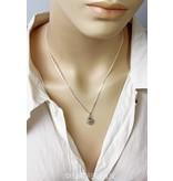 Openwork Heart earrings  -  sterling silver