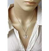 Goddess earrings - sterling silver