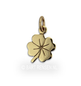 Four Leaf Clover pendant - gold