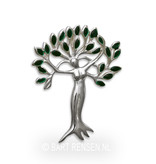 Tree of Life - Woman pendant - sterling silver