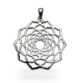 Lotus hanger - Zilver - Copy
