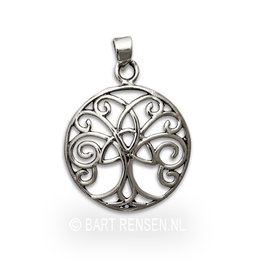 Celtic Tree of Life pendant - silver