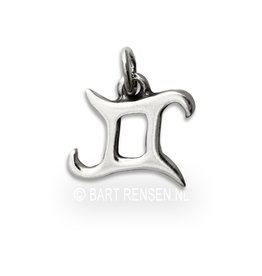 Gemini pendant - silver