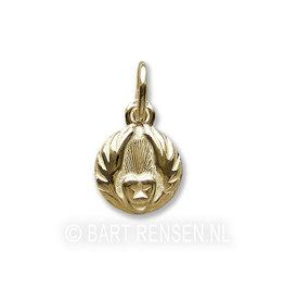 Golden Sufi pendant -
