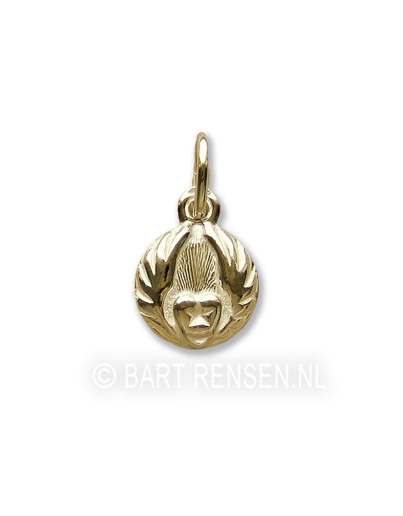 Sufi pendant - 14 carat gold