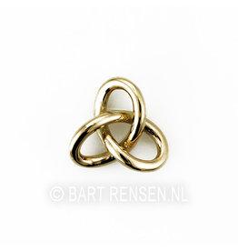 Gordian Knot pendant - gold