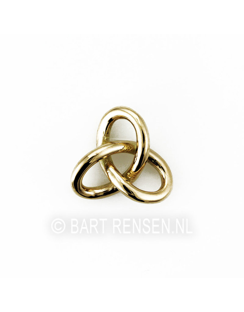 Gordian Knot pendant - 14 carat gold