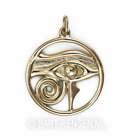 Horus-eye pendant - gold