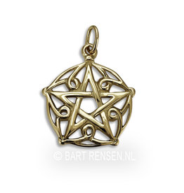 Golden Pentagram pendant