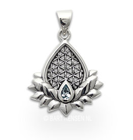 Flower of Life Lotus hanger