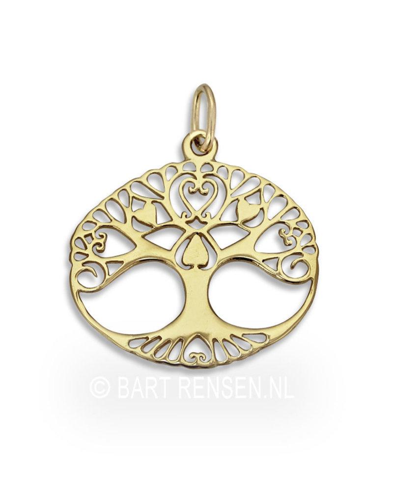 Tree of life pendant - 14 carat gold