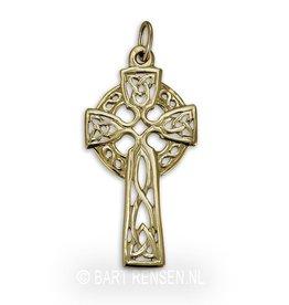 Gouden Keltisch Kruis hanger