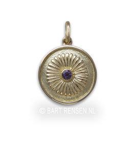 Crown Chakra - amethyst - gold