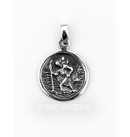 Silver Christopher pendant