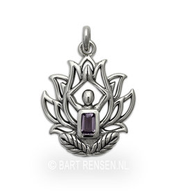 Lotus Yoga pendant