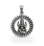 Ganeesha hanger - echt zilver