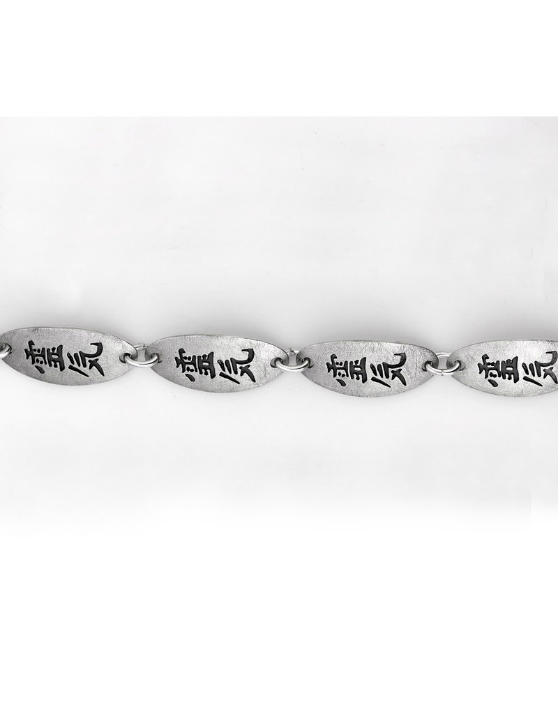Reiki armband - echt zilver