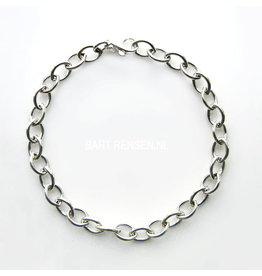 Zilveren Bedelarmband - zilver