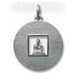 Meditatie hanger - echt zilver