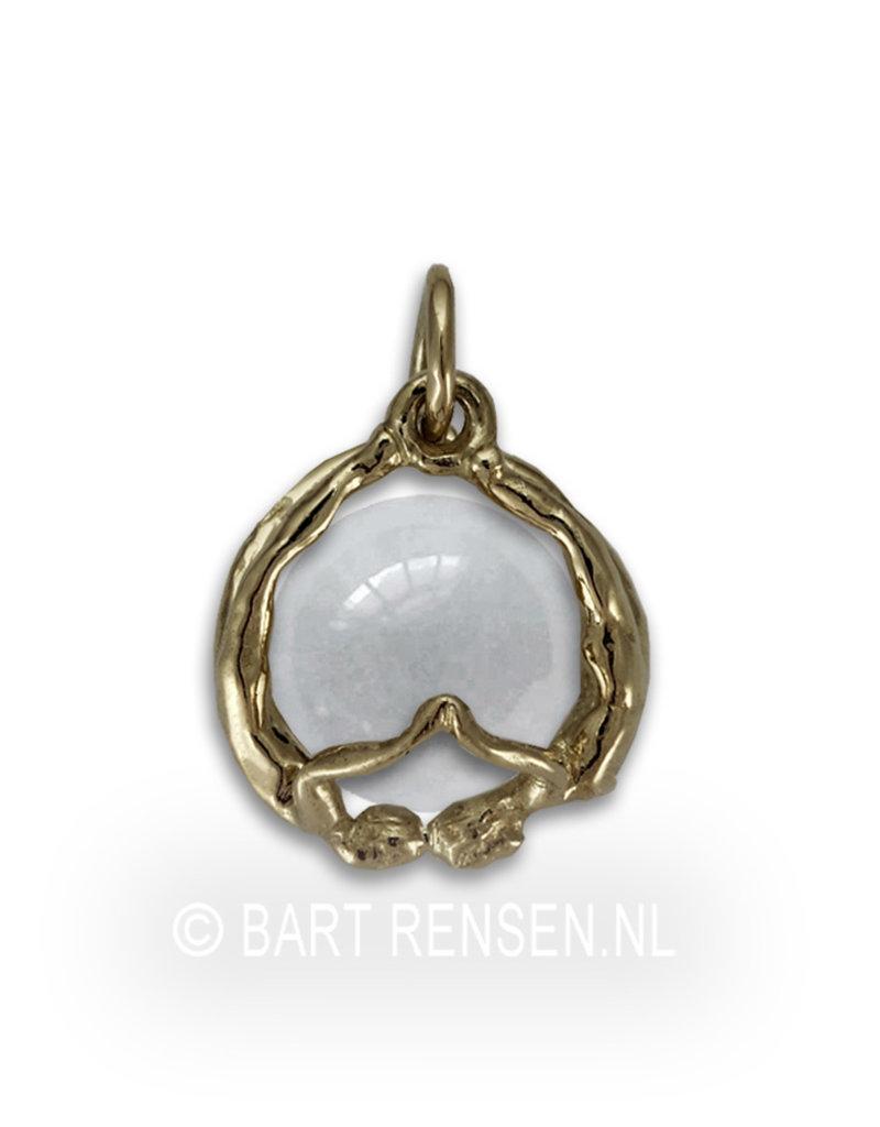 Trust pendant - 14 carat gold