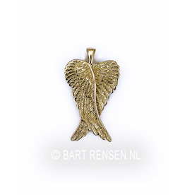 Gouden Engelvleugels hanger