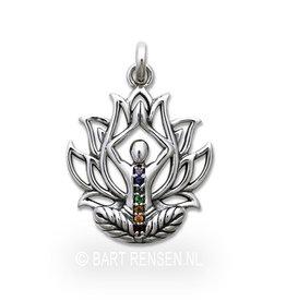 Lotus Yoga pendant