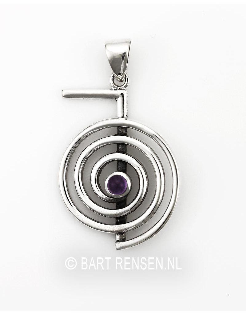 Choku Rei pendant - sterling silver