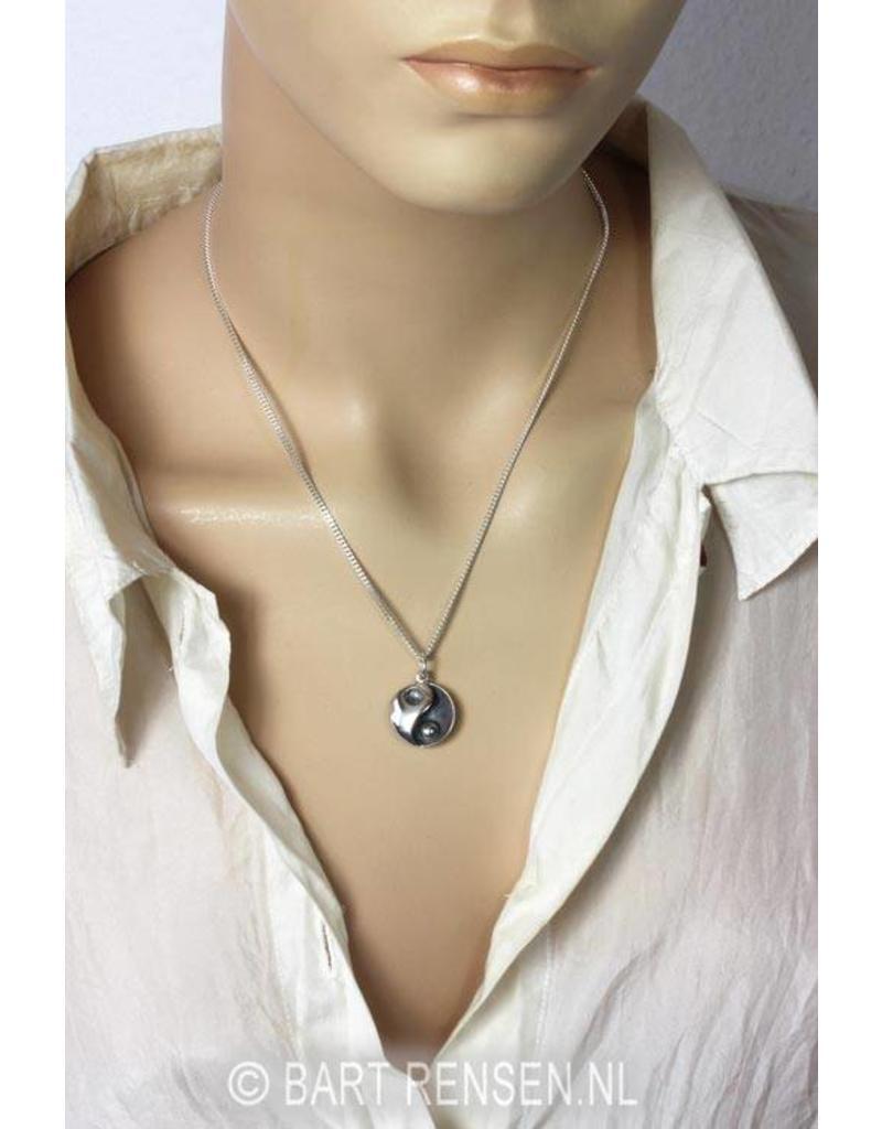 Yin-Yang pendant - sterling  silver