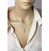 I Tjing pendant - sterling silver