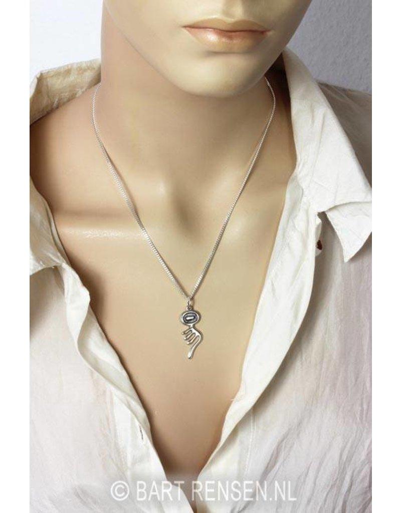 I Tjing hanger - echt zilver