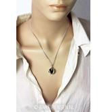 Yin-Yang Pendant (as a Bol) - sterling silver