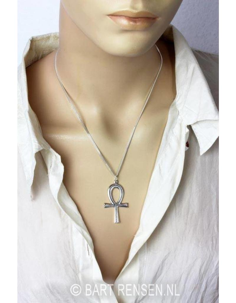 Ankh pendant - sterling silver