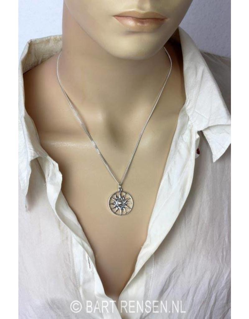 Sun Pendant - sterling silver