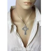 Keltisch kruis hanger - echt zilver