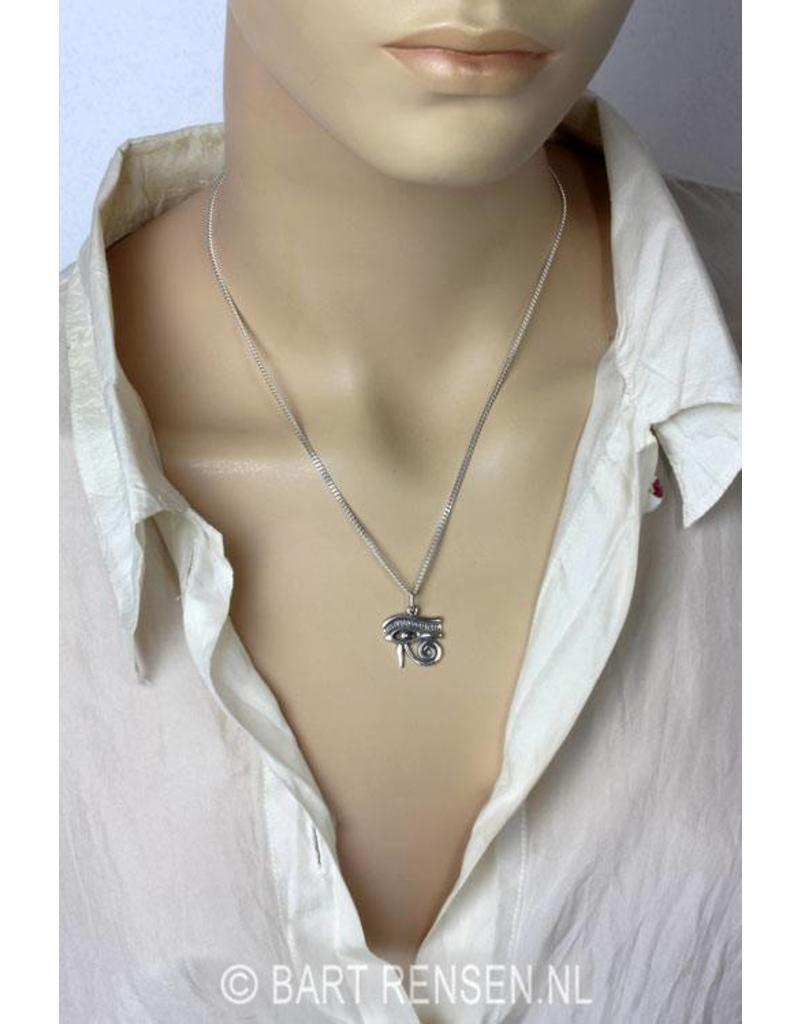 Horus-oog hanger (linker of rechter oog) - echt zilver