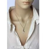 Mermaid pendant - sterling silver