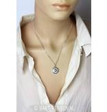 Solar Plexus Chakra pendant - sterling silver