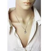 OHM Pendant - sterling silver