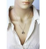 Man - Woman pendant - sterling silver