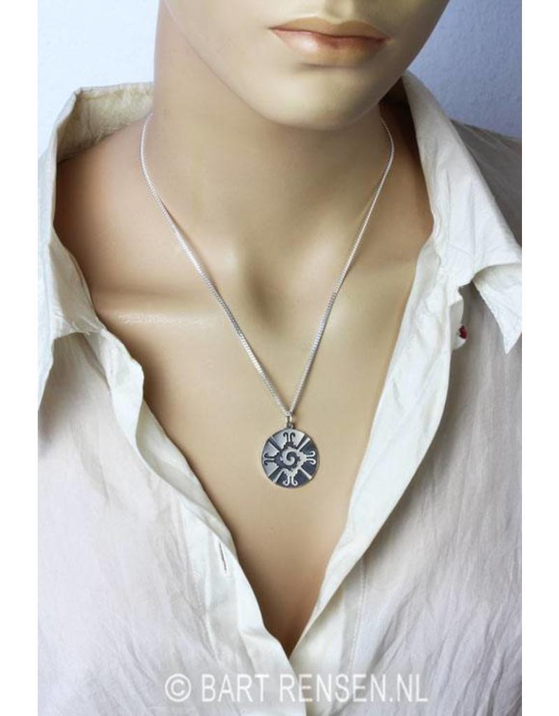 Hunab Ku Pendant - sterling silver