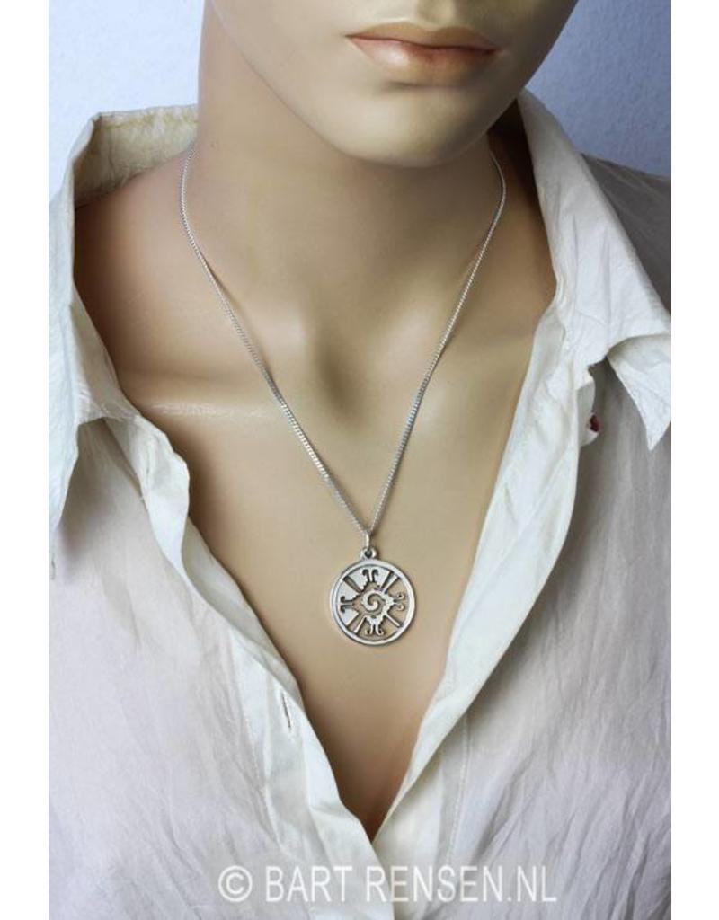 Hunab Ku hanger - echt zilver