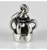 Kroon hanger - echt zilver