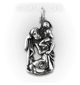 Christoffel hanger - zilver