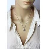 Steenbok hanger - echt zilver