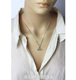 Libra pendant - sterling silver