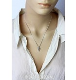 Sign Language Pendant - Love - sterling silver