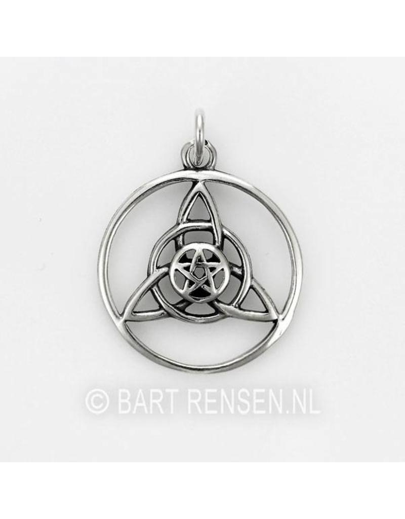 Triquetra pendant - sterling silver